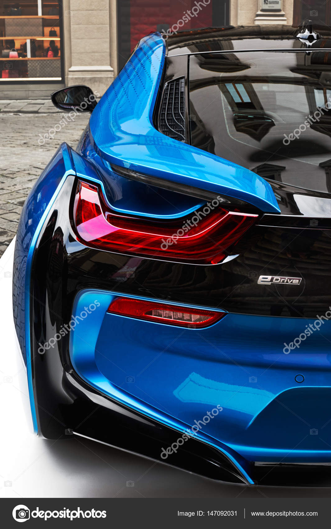 Bmw I8 Concept Electric Vehicle Stock Editorial Photo