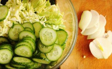 Tasty fresh healthy salad