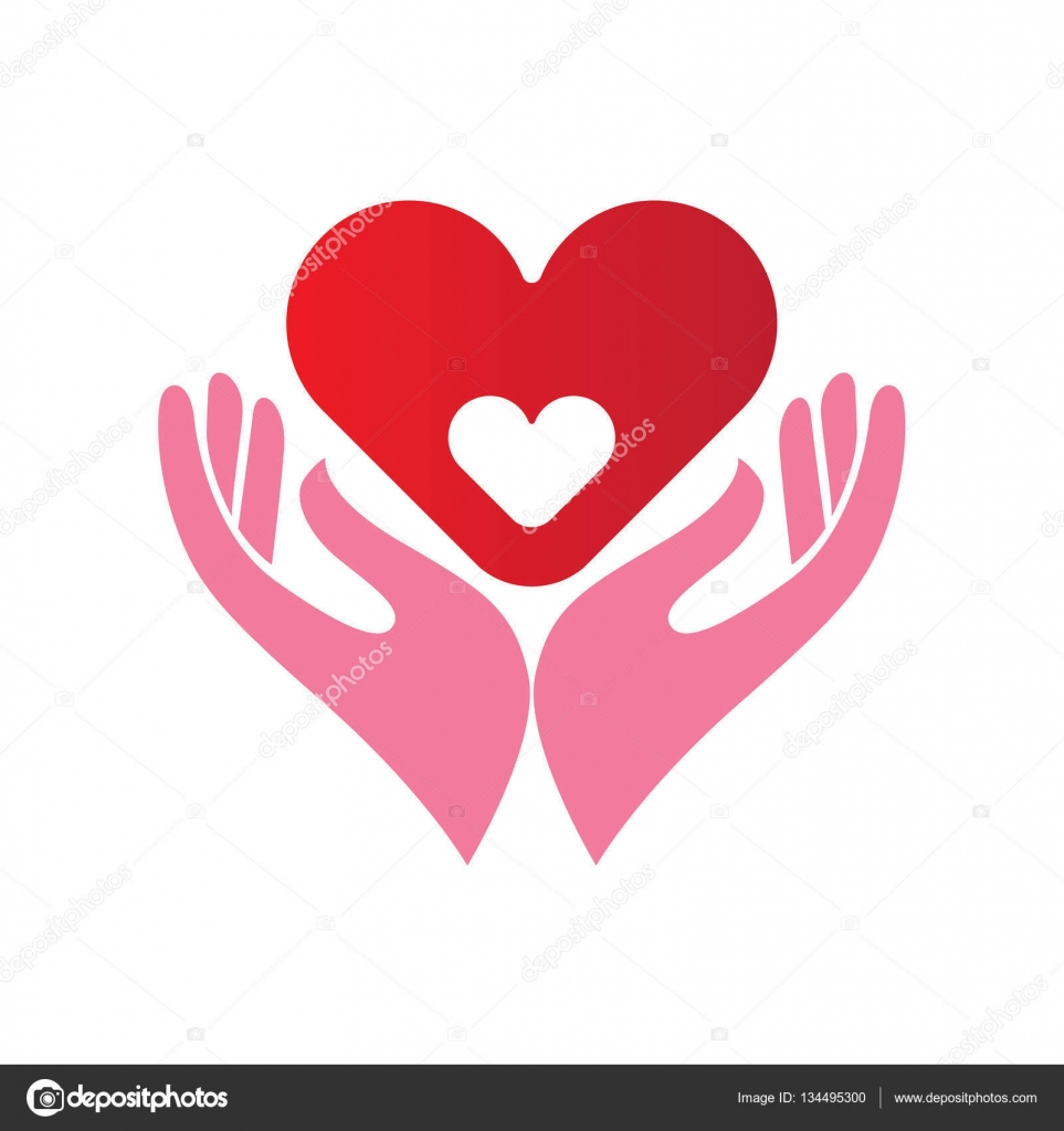 Heart in hands icon stock vector enginkorkmaz 134495300 abstract icon or emblem with two hands holding a heart within another heart healthcare motherhood concept vector by enginkorkmaz biocorpaavc Images