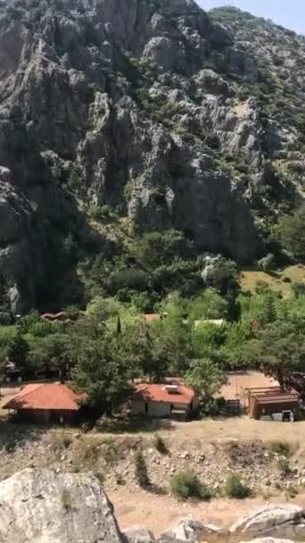View from Olympos, the Mediterranean coast of Turkey, Antalya Province