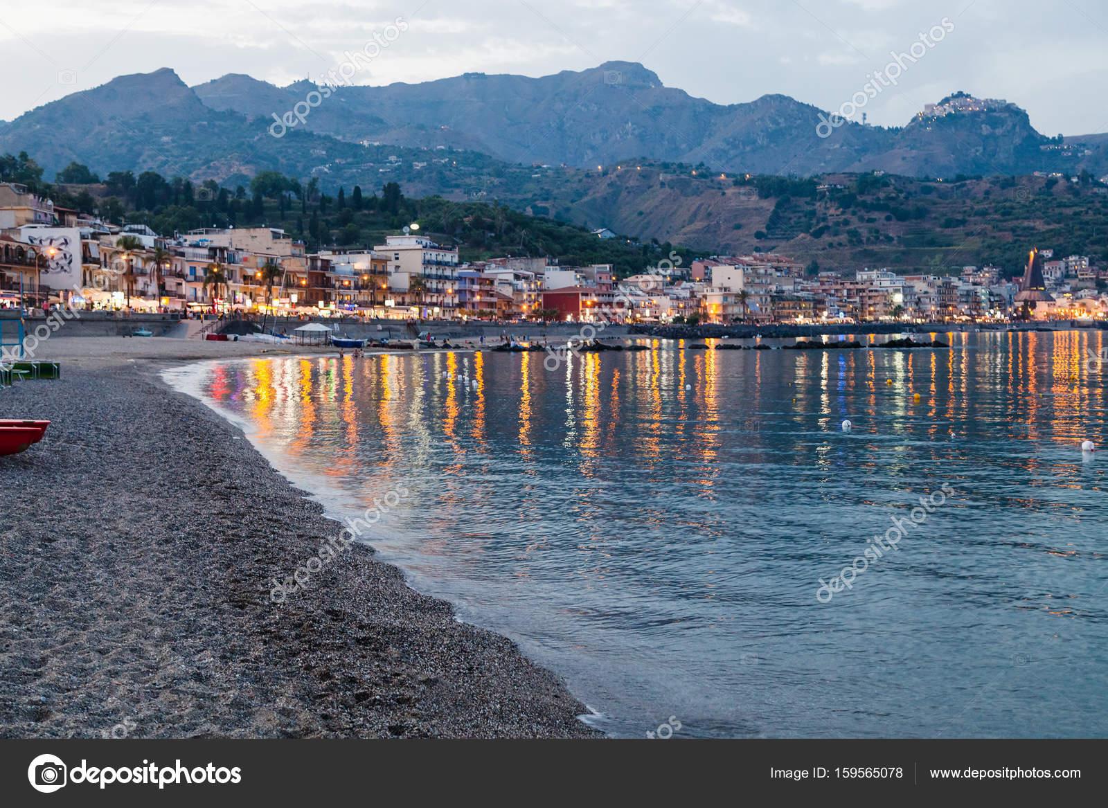 Le spiagge di giardini naxos e il rischio catastrofe ambientale