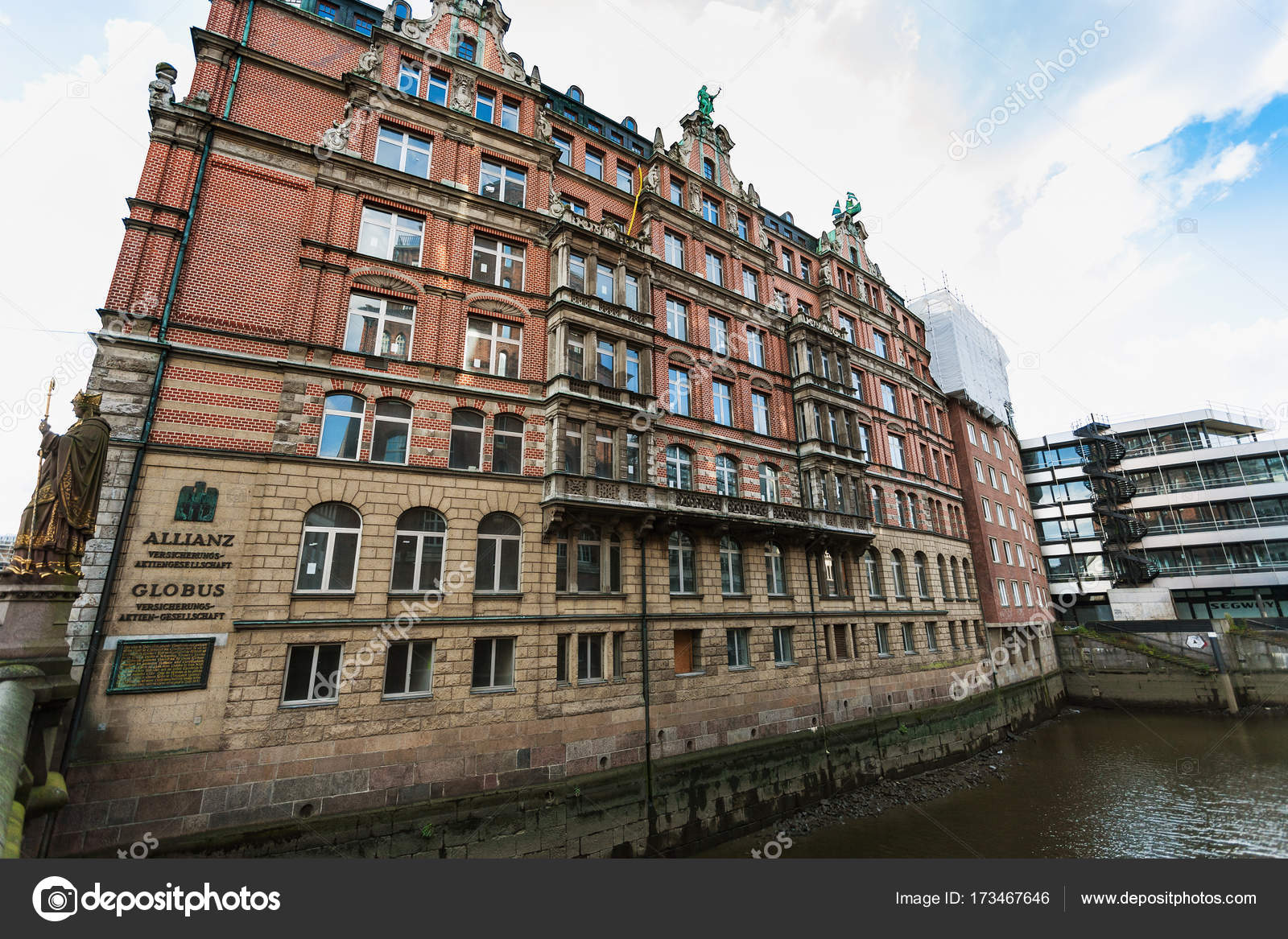 Globushof house in hamburg city downtown stock editorial for Hamburg hotel innenstadt