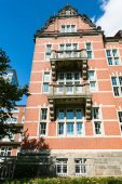 Fotografie Haus in Sankt Pauli Bezirk Hamburg city