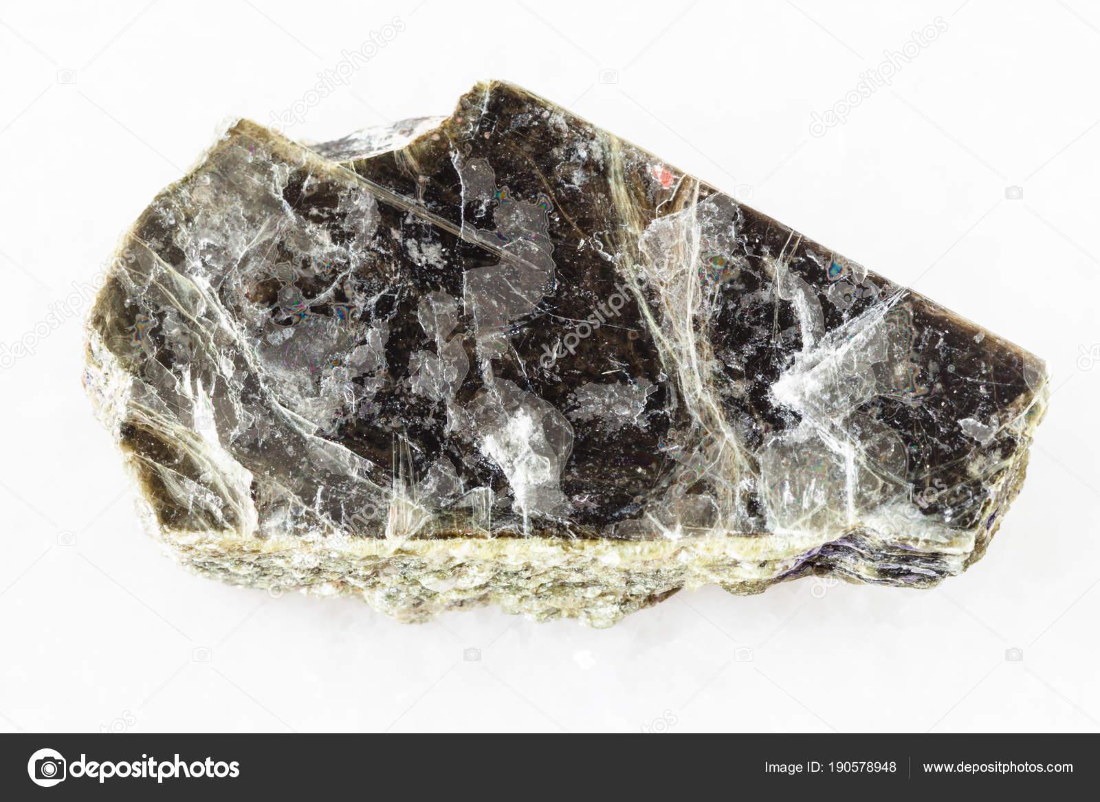 白い大理石の大まかな白雲母雲母...