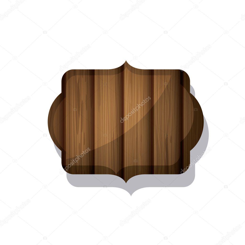 Diseño del marco de madera y rayas marrón — Archivo Imágenes ...