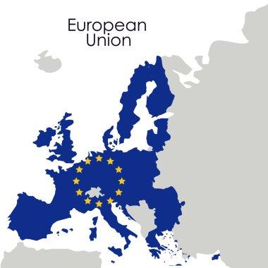 European union map design