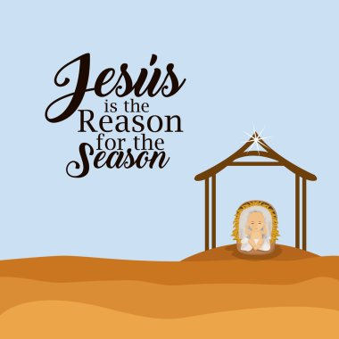 Jesus is the reason for the season design