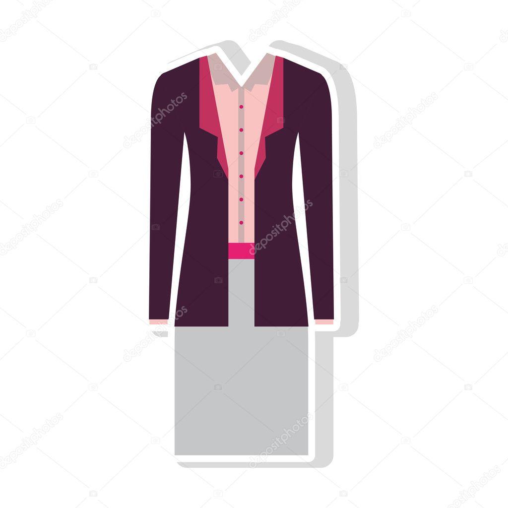 9db284e6d9d2 roupas de mulher executiva — Vetores de Stock © grgroupstock #127802570