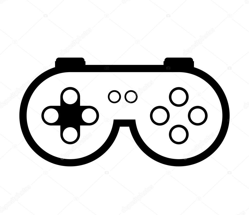 видео игры управления векторное изображение Grgroupstock