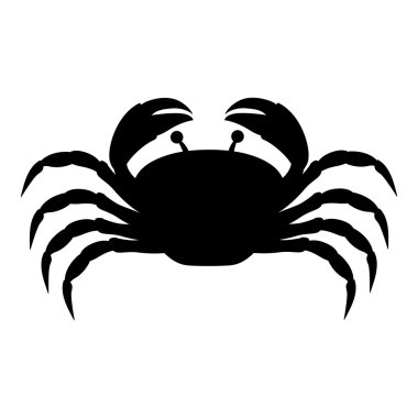 single crab icon image