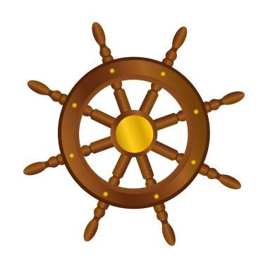 boat rudder icon image