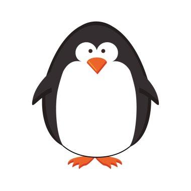penguin cartoon icon image