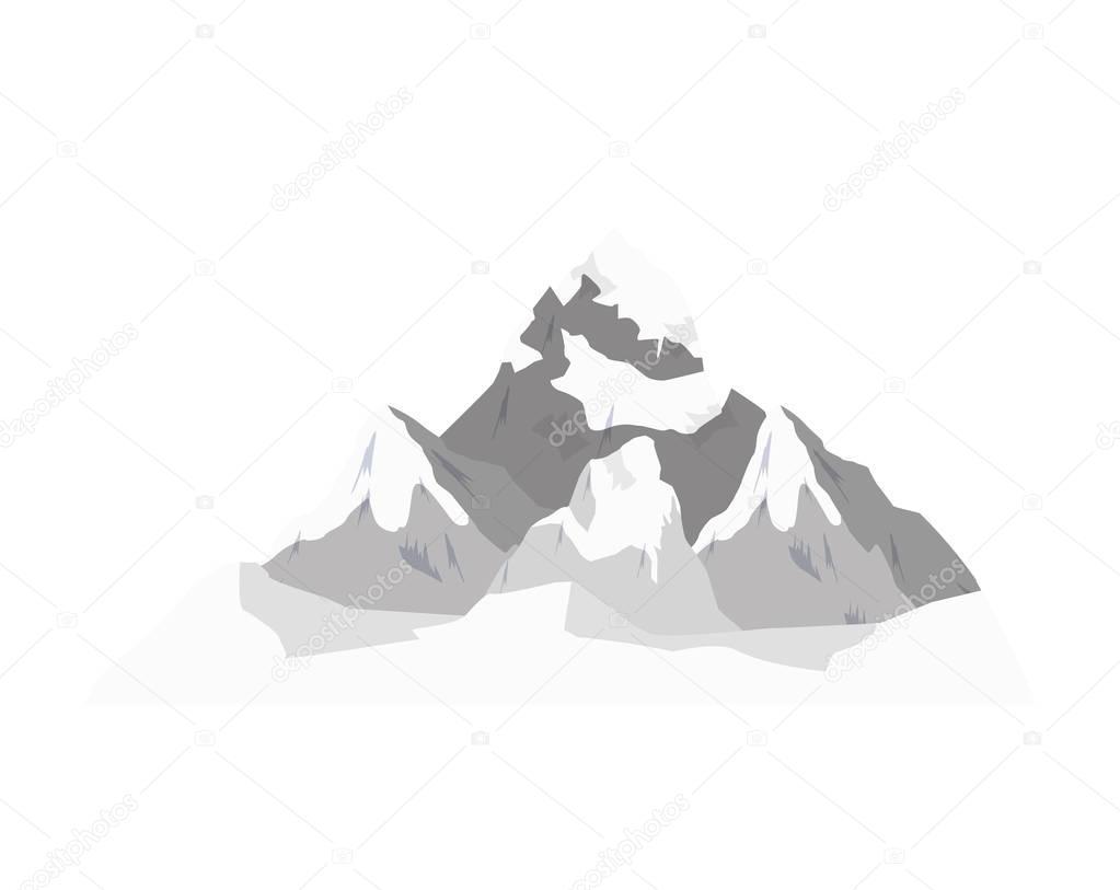 winter landscape mountains