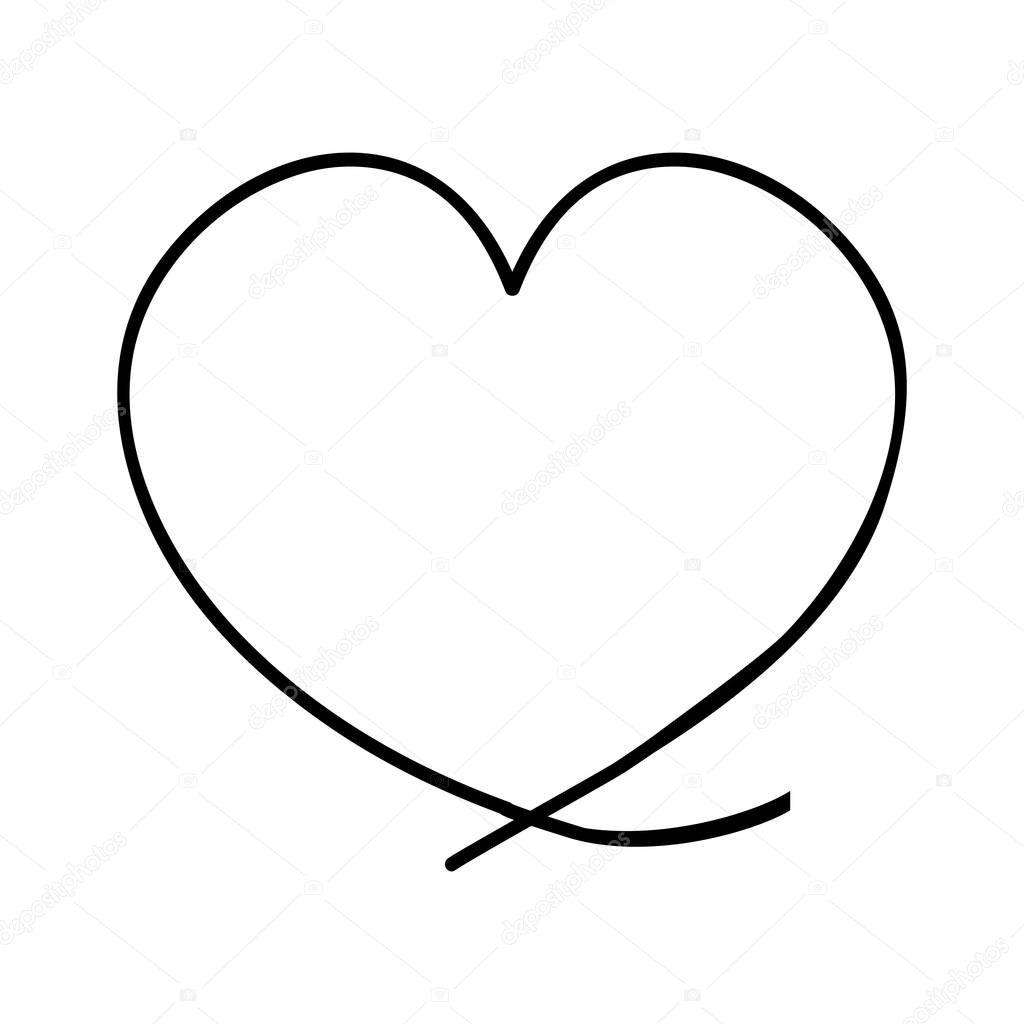 Obrazek Ikony Srdce Kreslene Stock Vektor C Grgroupstock 129394778
