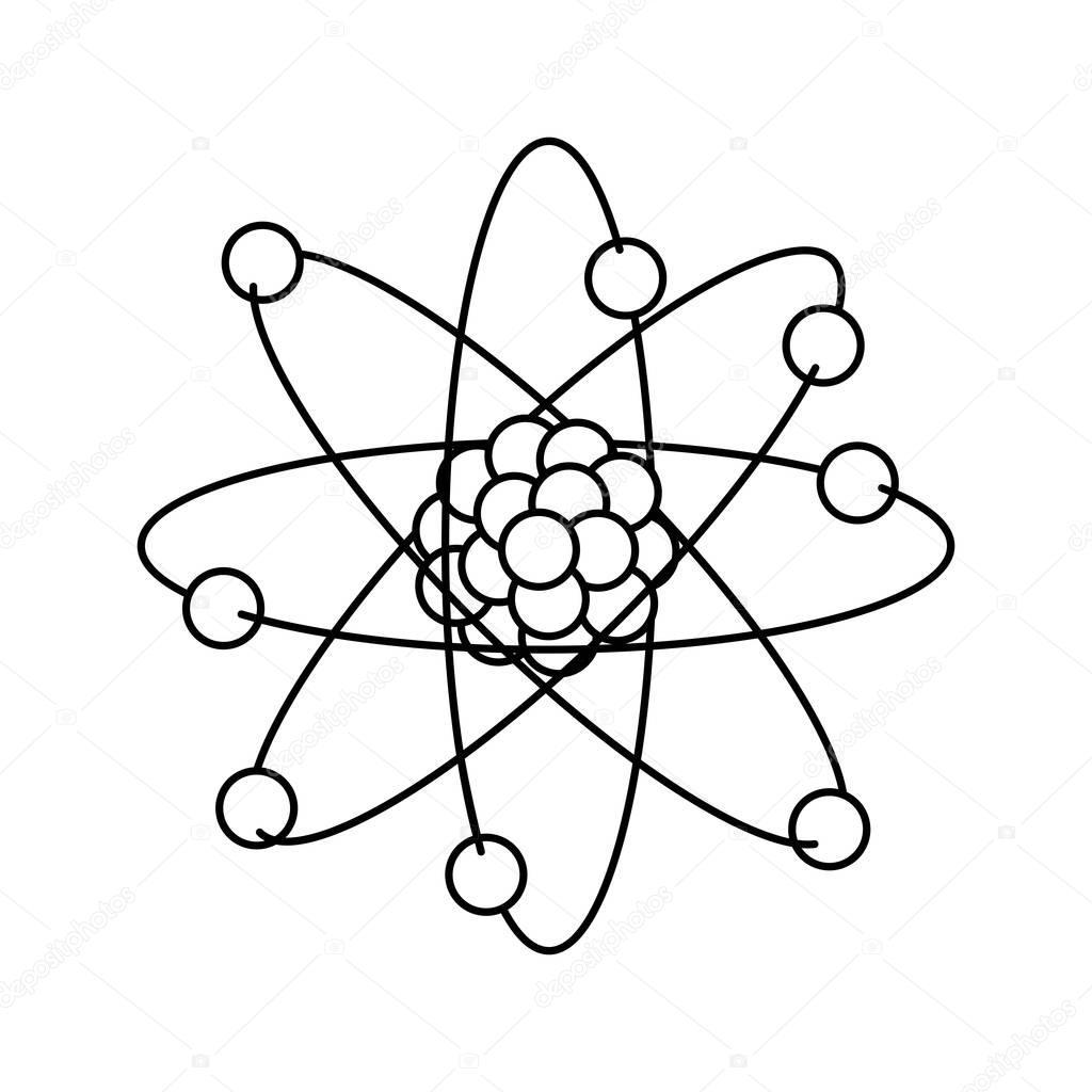 Dibujos Fisica Y Quimica Para Colorear Diseño De átomo