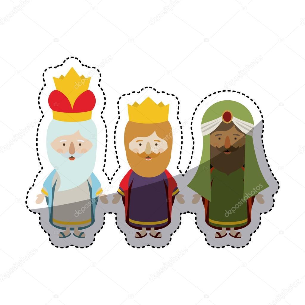 Imágenes Los Reyes Magos En Animados Animados El Diseño De