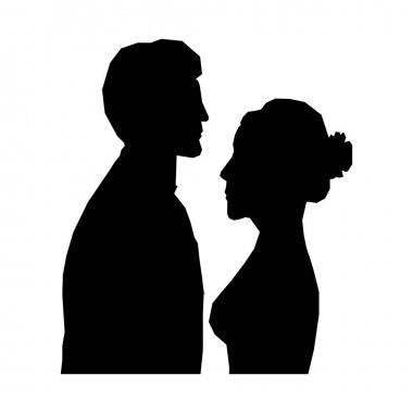 bride and groom icon image