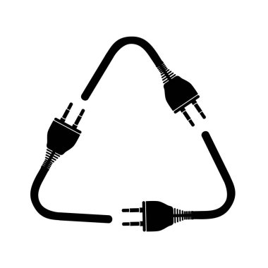 electricity plug icon image