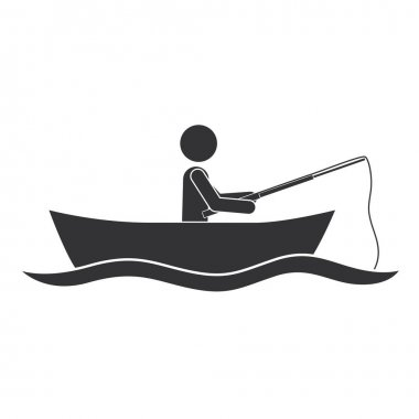 Download Man In Boat Free Vector Eps Cdr Ai Svg Vector Illustration Graphic Art