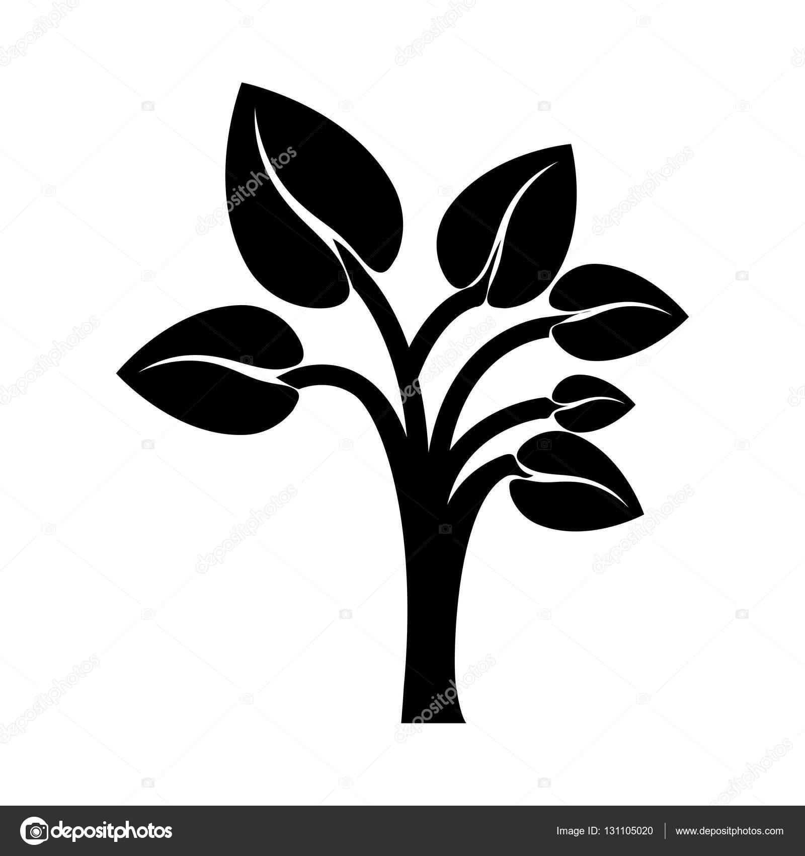 Siyah Renk Ağaç Gövdesi Ile şekil Kalp Için Ters Bırakır Stok