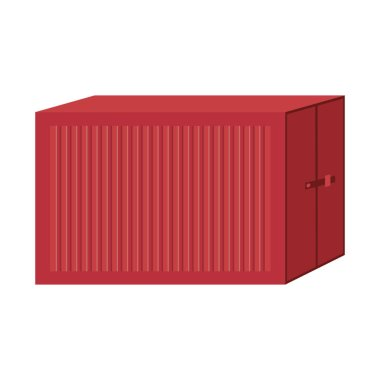 cargo container for freight shipping