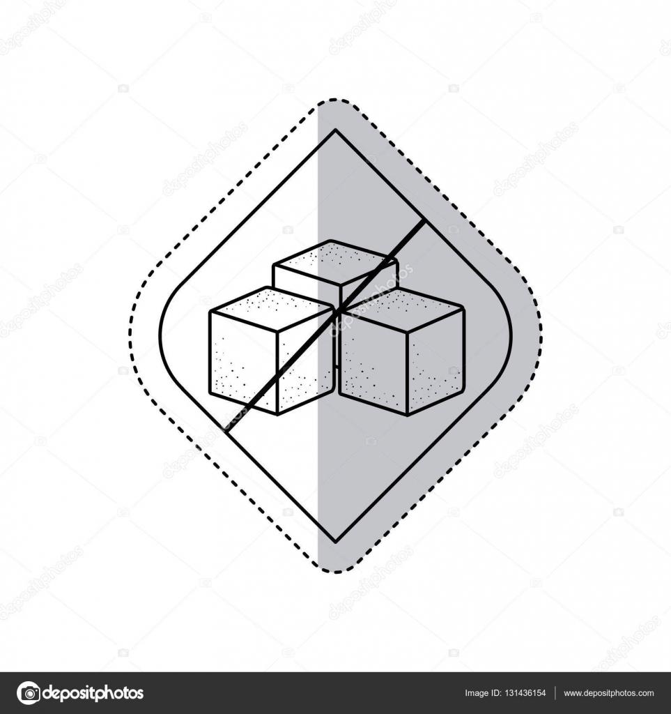 Isolierte Rahmen freien Zucker Design — Stockvektor © grgroupstock ...