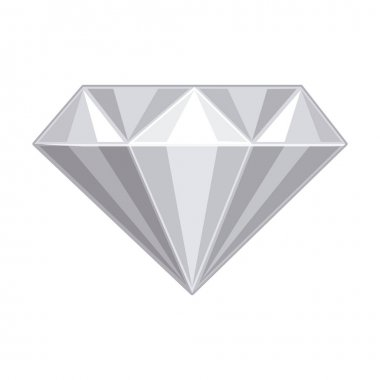 Isolated diamond design