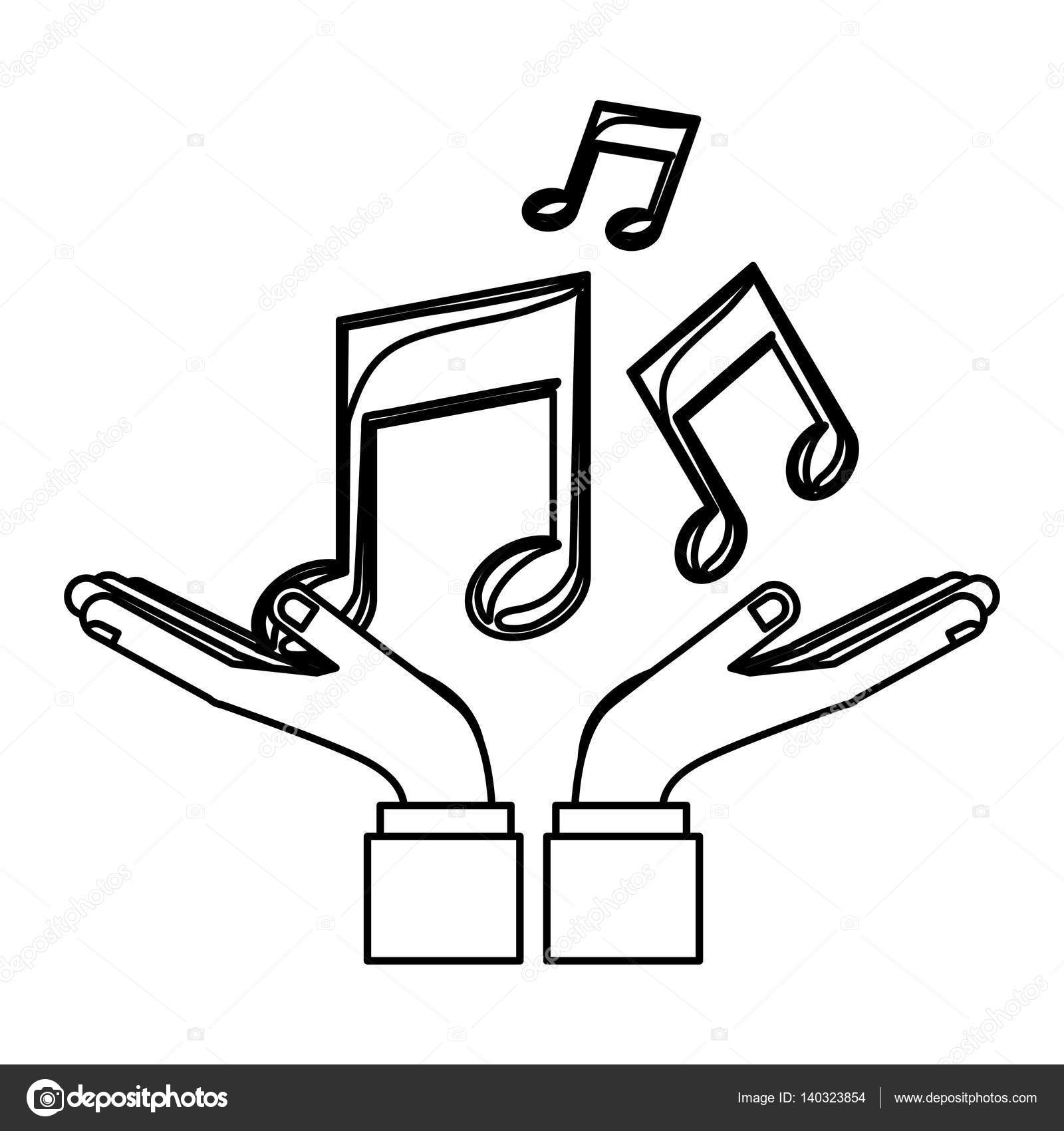 Music Notes Symbols Stock Vector Grgroupstock 140323854