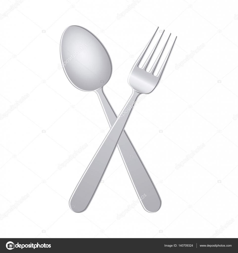 Ustensiles de couverts restaurant image vectorielle for Ustensiles pour restaurant