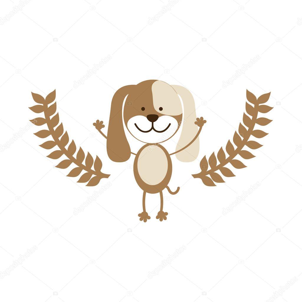 Cute dog pet