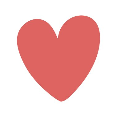 heart shape icon love design