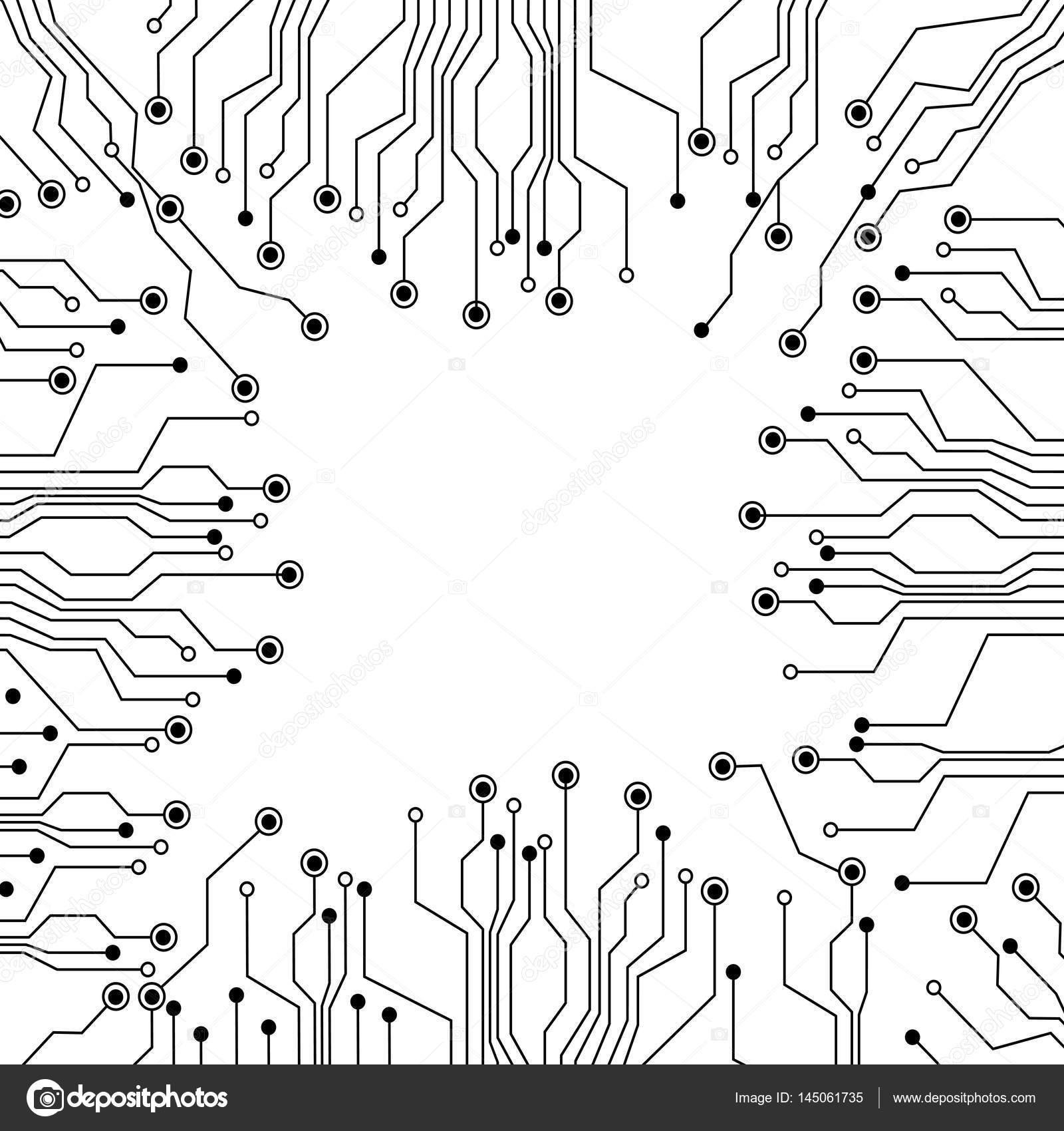 Figure Electrical Circuits Icon Stock Vector Grgroupstock 145061735 Circuit Diagram