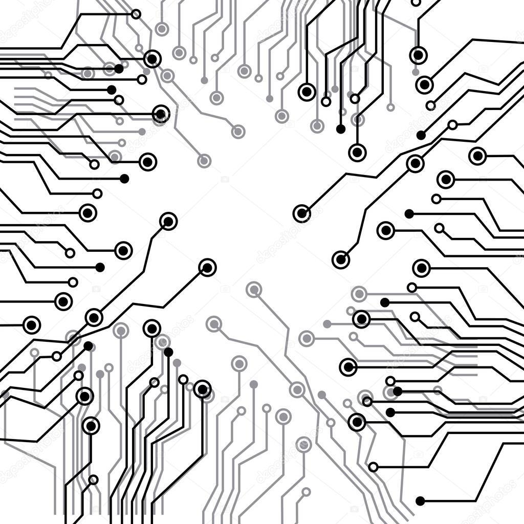 vector  circuito electrico