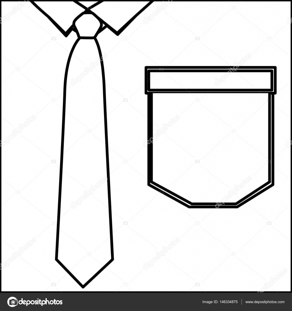 Imágenes Diseño De Corbatas Para Colorear Camisa Elegante