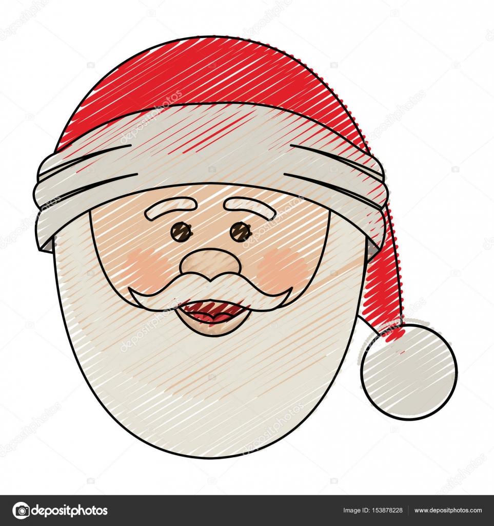 Dibujos Navidad En Color De Papa Noel Dibujos Animados De Raya De