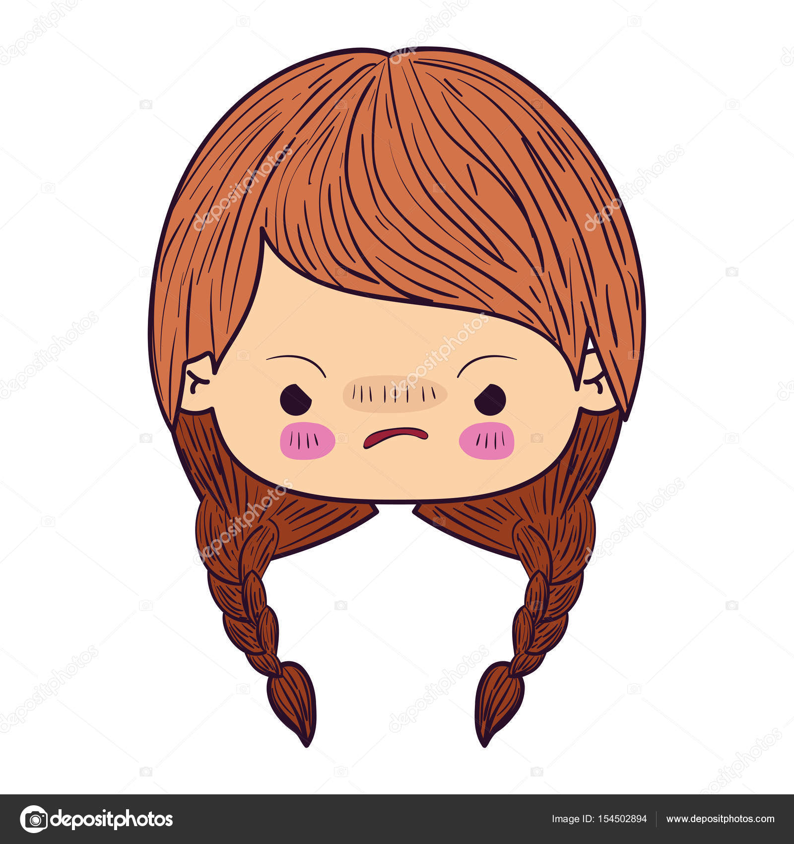 depositphotos_154502894 stock illustration colorful caricature kawaii face little