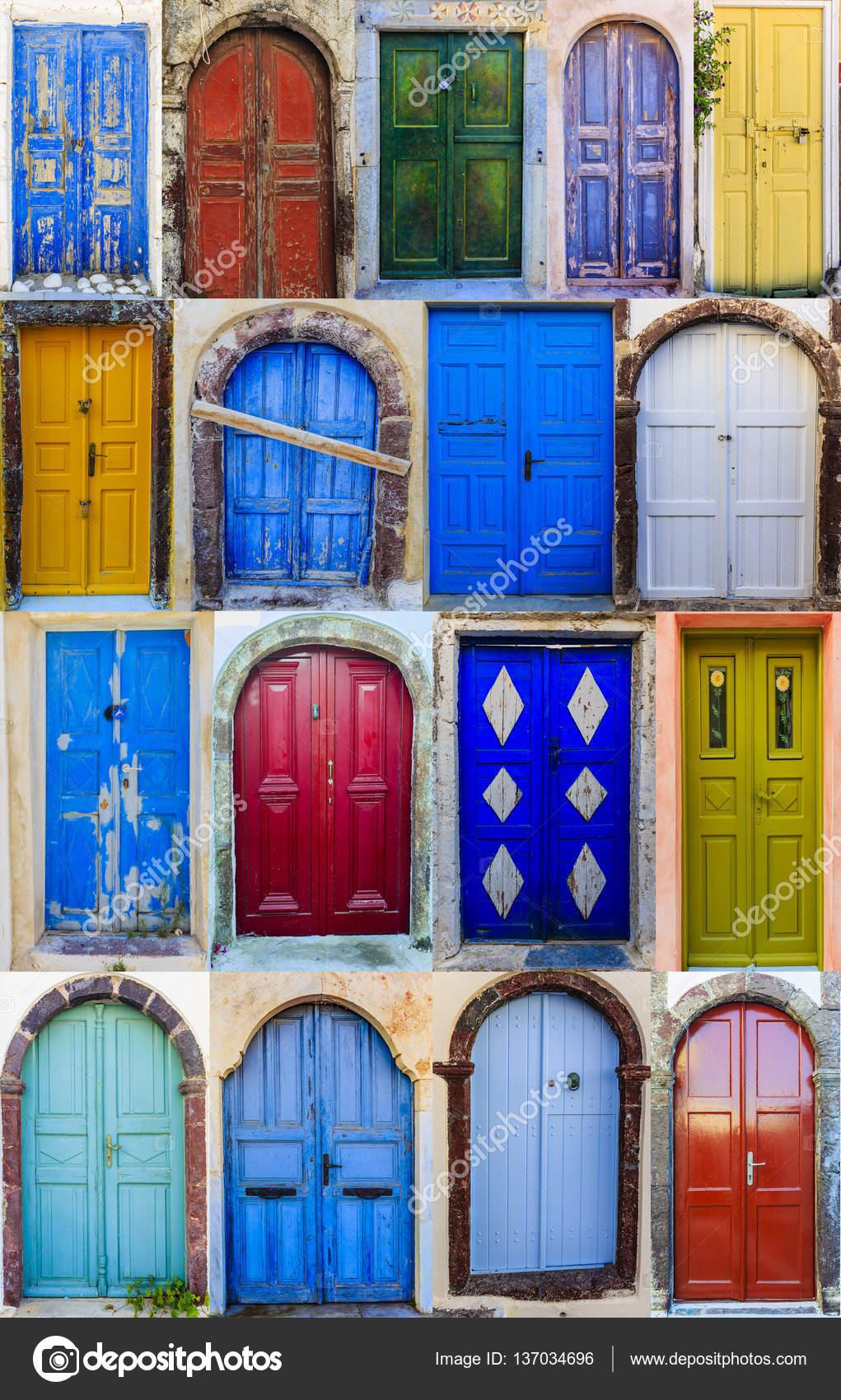Porte Anteriori Colorate Delle Case Foto Stock 169 Gorilla