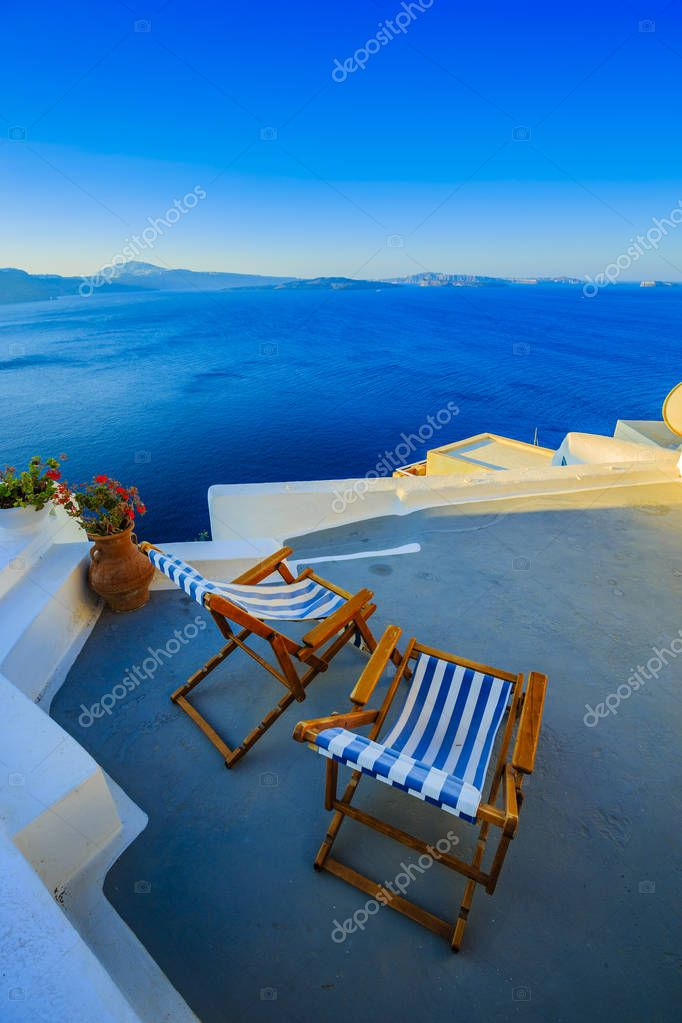 Amazing view of sea from roof of house