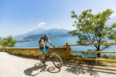 Mountain biking on Lake Garda