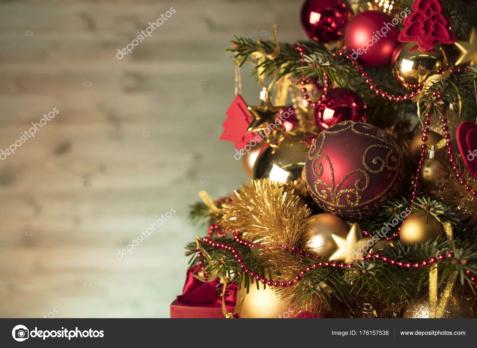 Imágenes Tiempo De Navidad Tiempo Navidad Fondo Navidad Rojo Oro