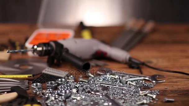 Nástroje, stavební zařízení koncepce.