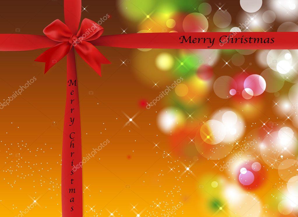 Weihnachten Hintergrund mit funkelt und leuchtet — Stockfoto ...