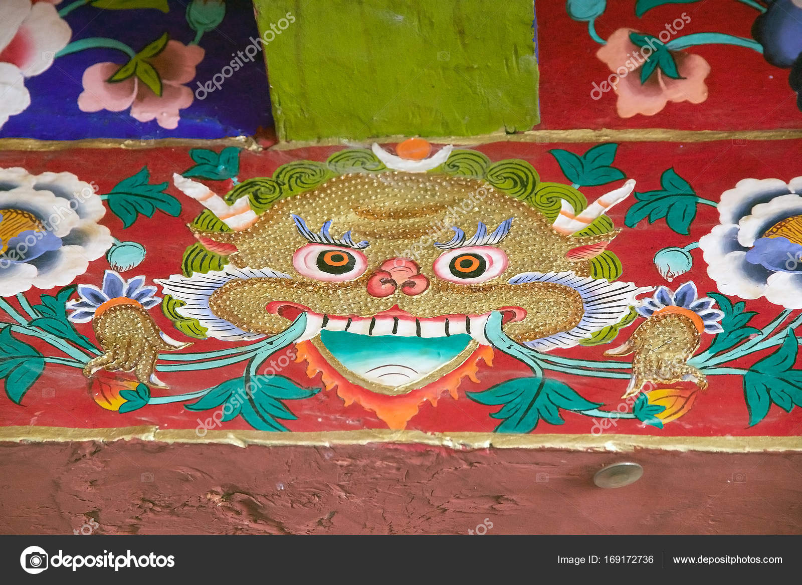 Samstanling Monastery in Nubra valley, Ladakh, India ⬇ Stock Photo, Image  by © ajlber #169172736