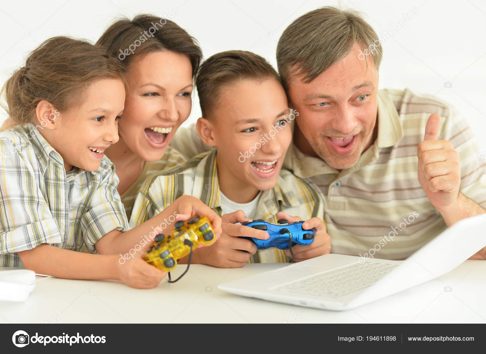 Computer Game Addiction Concept Stock Images - Image: 15817104