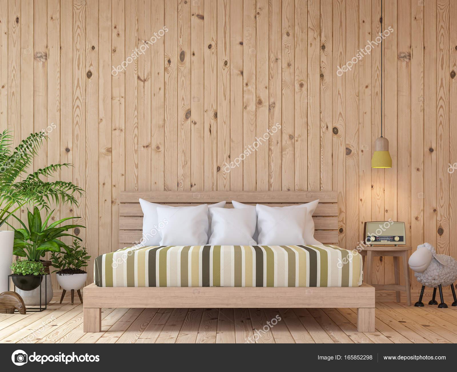 Camere Da Letto Arredate Vintage : Rendering d di interni camera da letto d epoca moderna immagine