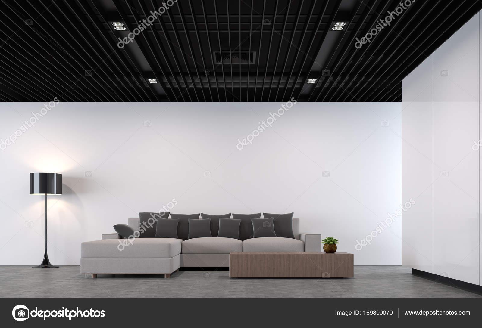 modern loft living room — Stock Photo © onzon #169800070
