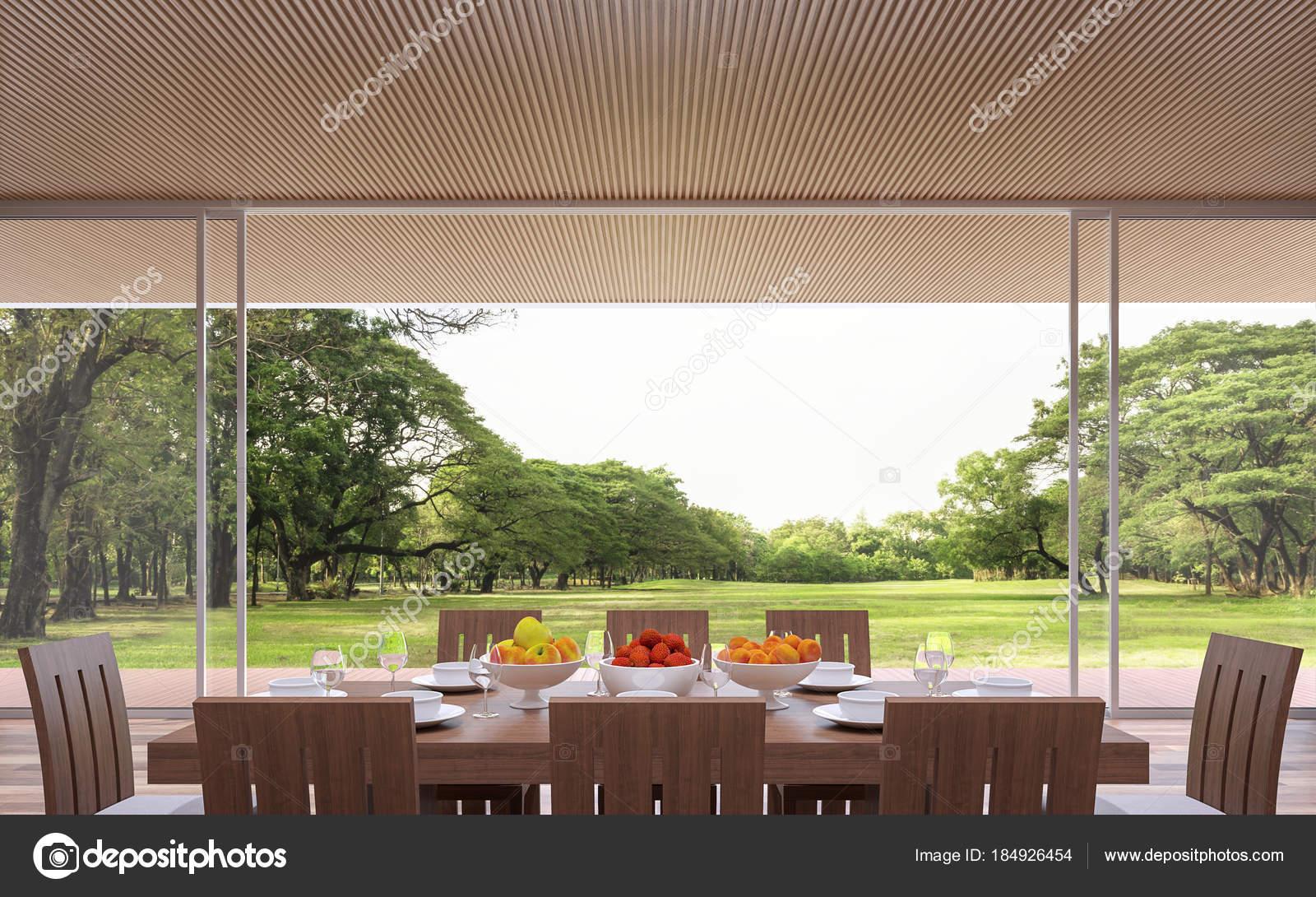 Sala Da Pranzo Contemporanea : Sala pranzo contemporanea moderna immagine rendering camere sono