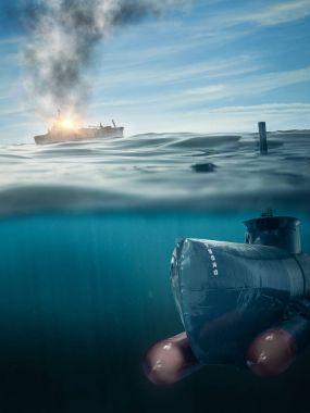 submarine on patrol