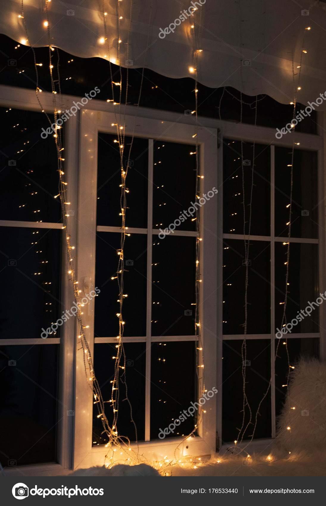 Weihnachten Fensterdekoration Weihnachts Stimmung Innenräume