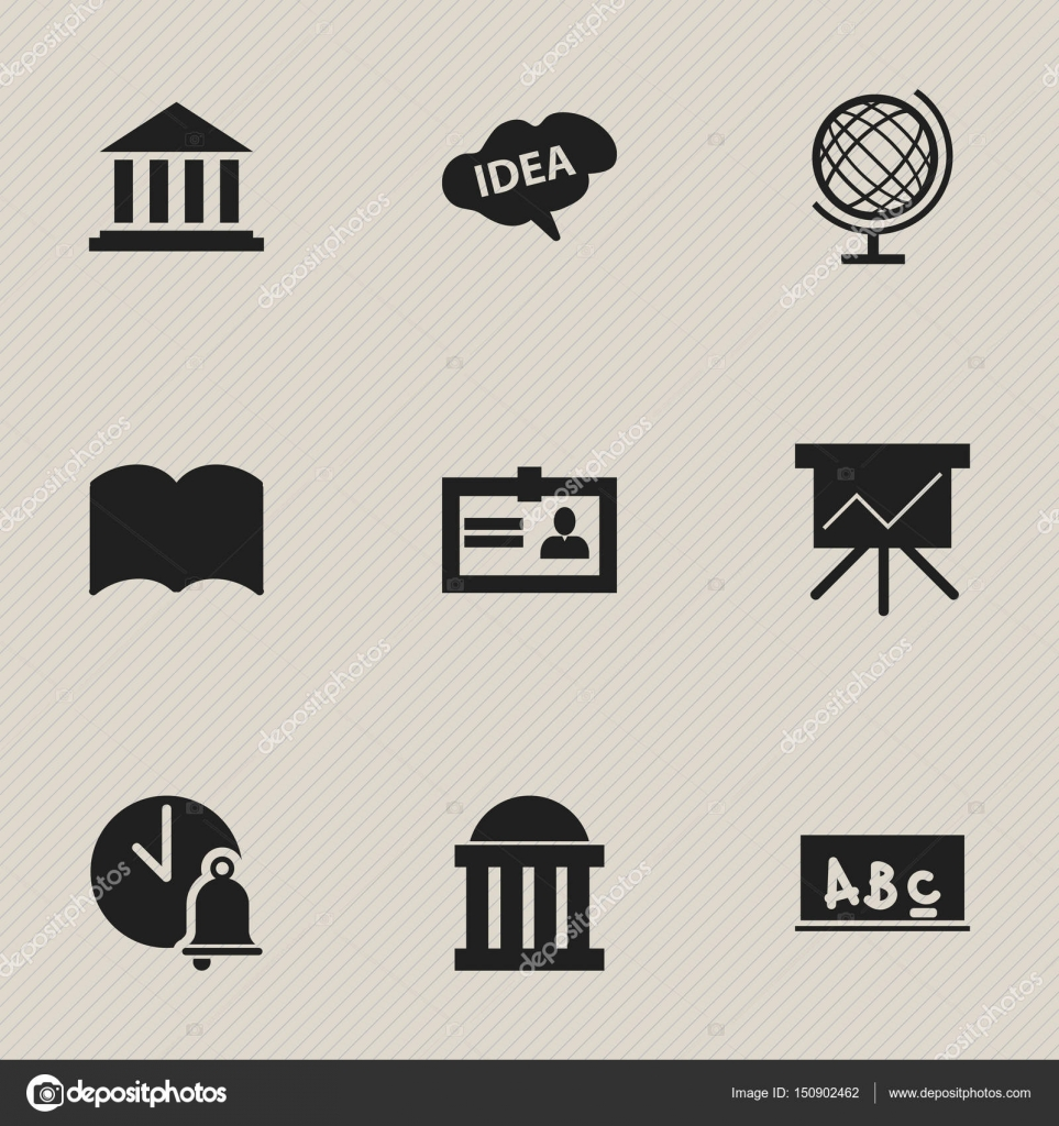 Set of 9 editable education icons includes symbols such as includes symbols such as certification mind chart 1betcityfo Image collections